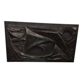 Sculpture - Sculptural Frieze on Iron Plate