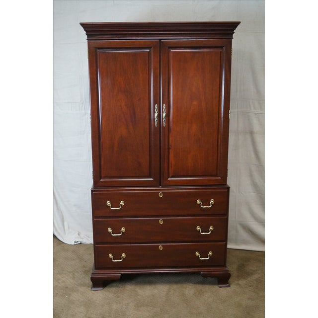 Councill Craftsman Chippendale Armoire - Image 2 of 10