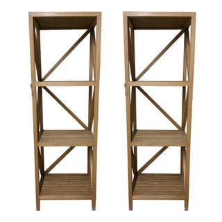 Hd Buttercup Bookshelves - A Pair