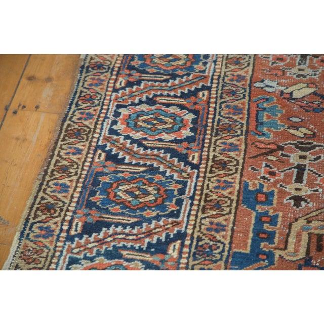 Vintage Heriz Carpet- 7′4″ × 10′1″ - Image 7 of 10