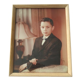 50s Portrait of a Young Boy