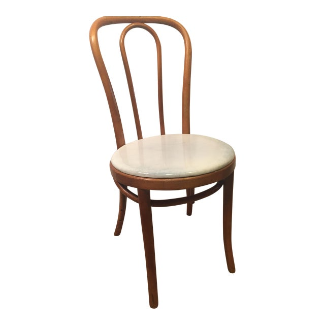 Image of Vintage Thonet Mid-Century Bentwood Chair