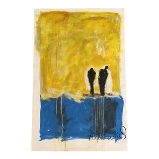 Vladimir Prodanovich Two People Painting