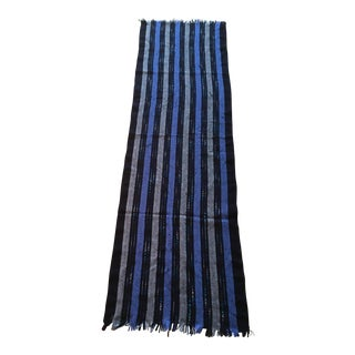 Italian Handmade Striped Scarf