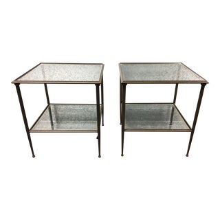 Crate & Barrel Kyra Side Tables - A Pair