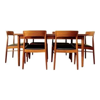 Danish Modern Kai Kristiansen Teak Dining Set
