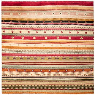"""Lori Hand Knotted Area Rug - 6'0"""" X 6'1"""""""