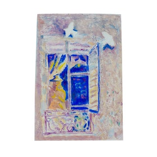 """""""Lady at the Window"""" Print"""