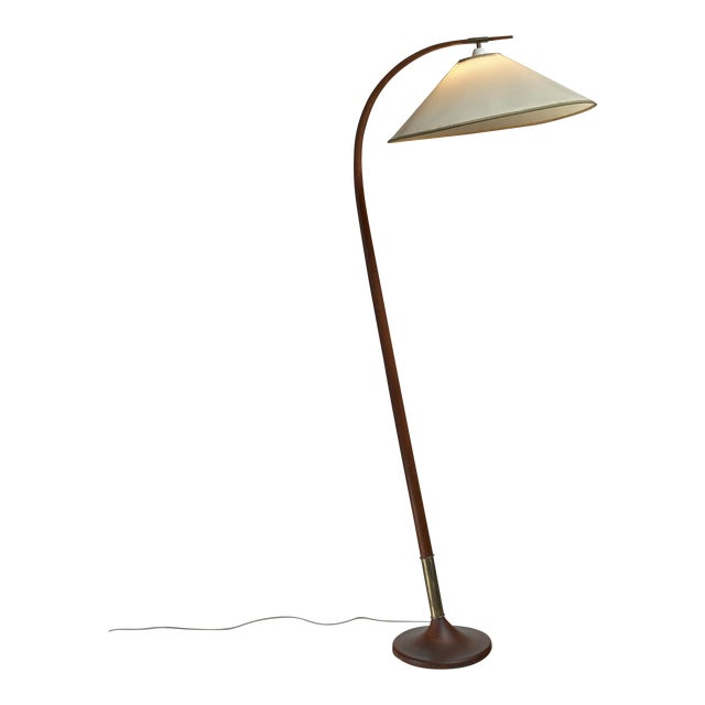 Severin Hansen Floor Lamp, Denmark, 1950s - Image 1 of 5