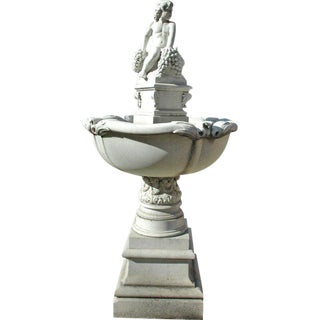 Bacchus Marble Fountain