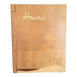 Hawaiian Wooden Photo Album
