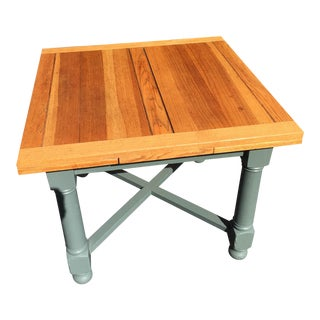 English Oak Pub Table