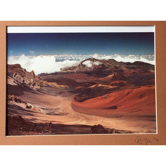 Vintage 1974 Maui, Hawaii Signed Photograph - Image 3 of 5