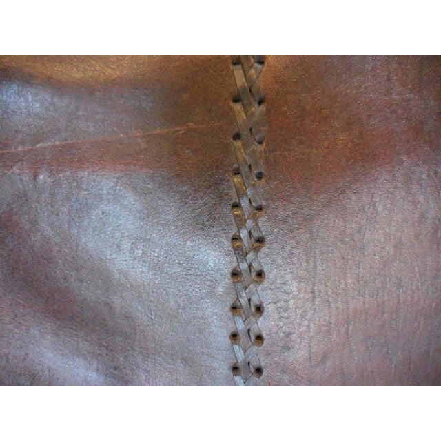 Leather Butaca Sofas - Image 2 of 9