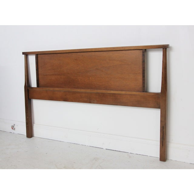 Mid-Century Modern Full Headboard - Image 2 of 6