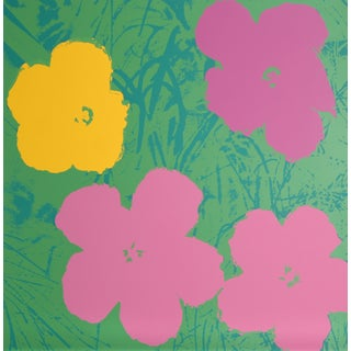 Andy Warhol, Flowers 7, Sunday B. Serigraph