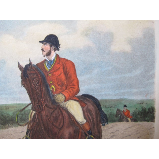 Image of British Equestrian Poster from 1870