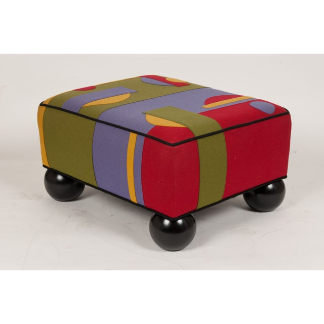 Colorful Limited Edition Ottoman - Image 4 of 5