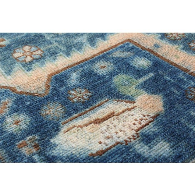 Blue Persian Rug - 5′7″ × 10′ - Image 2 of 2