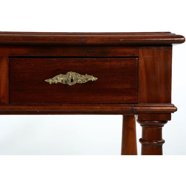 English Mahogany Writing Desk - Image 8 of 11