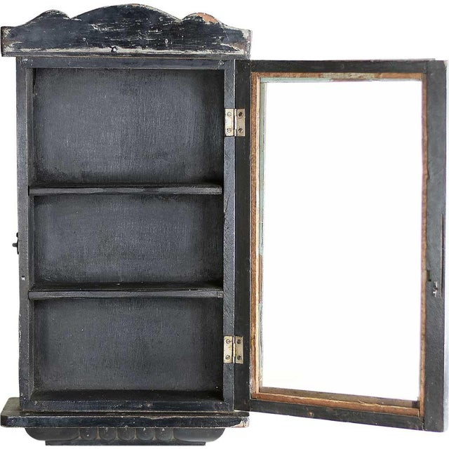 Image of Raven Showcase Wall Cabinet