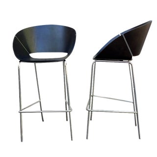 Modern Conical Barstools - A Pair