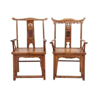 Antique Yolk Chairs - a Pair