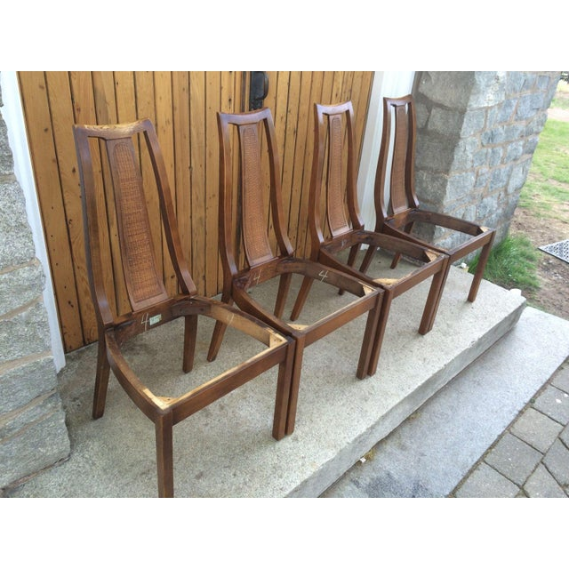 Paine Mid Century Modern Dining Chairs - Set of 4 - Image 5 of 8