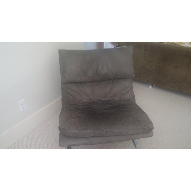 "Saporiti ""Onda (Wave) Lounge Chairs"" - Pair - Image 7 of 8"