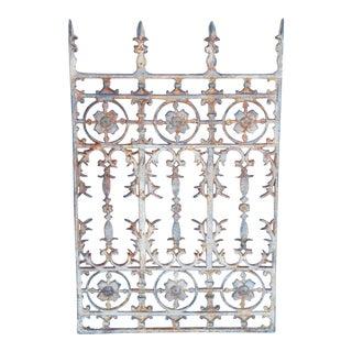 Vintage Ornate Architectural Iron Detail