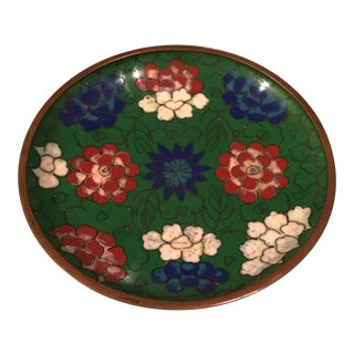 Chinese Enamel Cloisonné Tray
