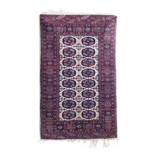 Vintage Bokhara Rug - 2′8″ × 4′2″