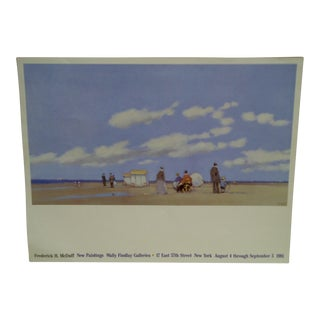 Frederick H. McDuff Gallery Poster 1981