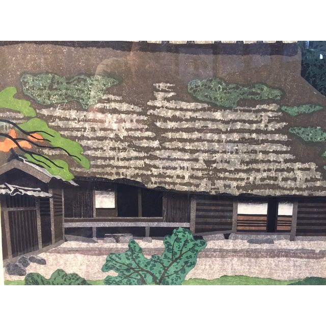 Takehiko Hironaga Large Woodblock Print - Image 4 of 8