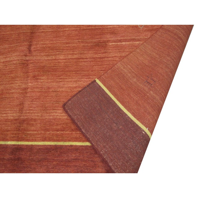 "Gabbeh Indian Rug - 8' X 9'5"" - Image 3 of 4"