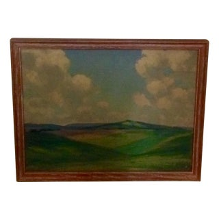 Landscape Oil Painting Signed Tomlinson