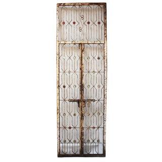 Vintage Indian Iron Garden Gate