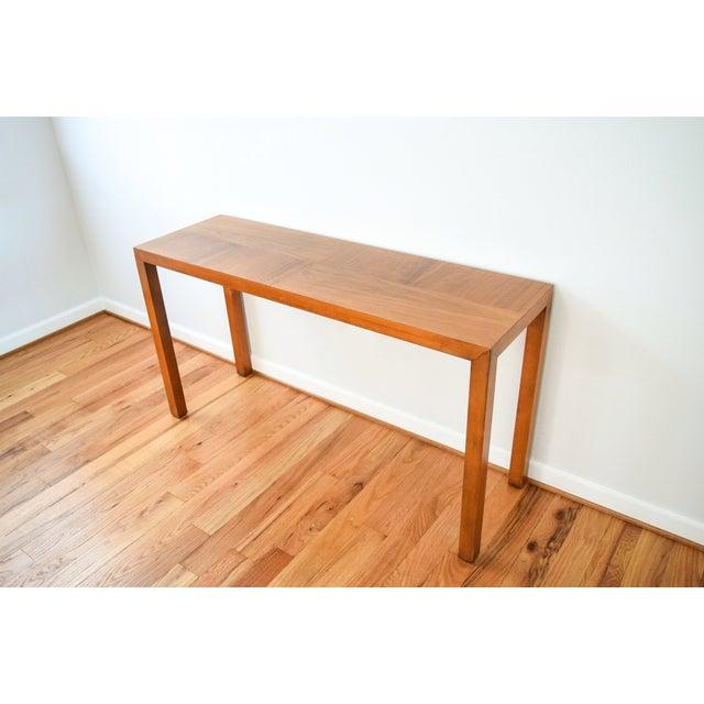Vintage lane sofa table Retro sofa table