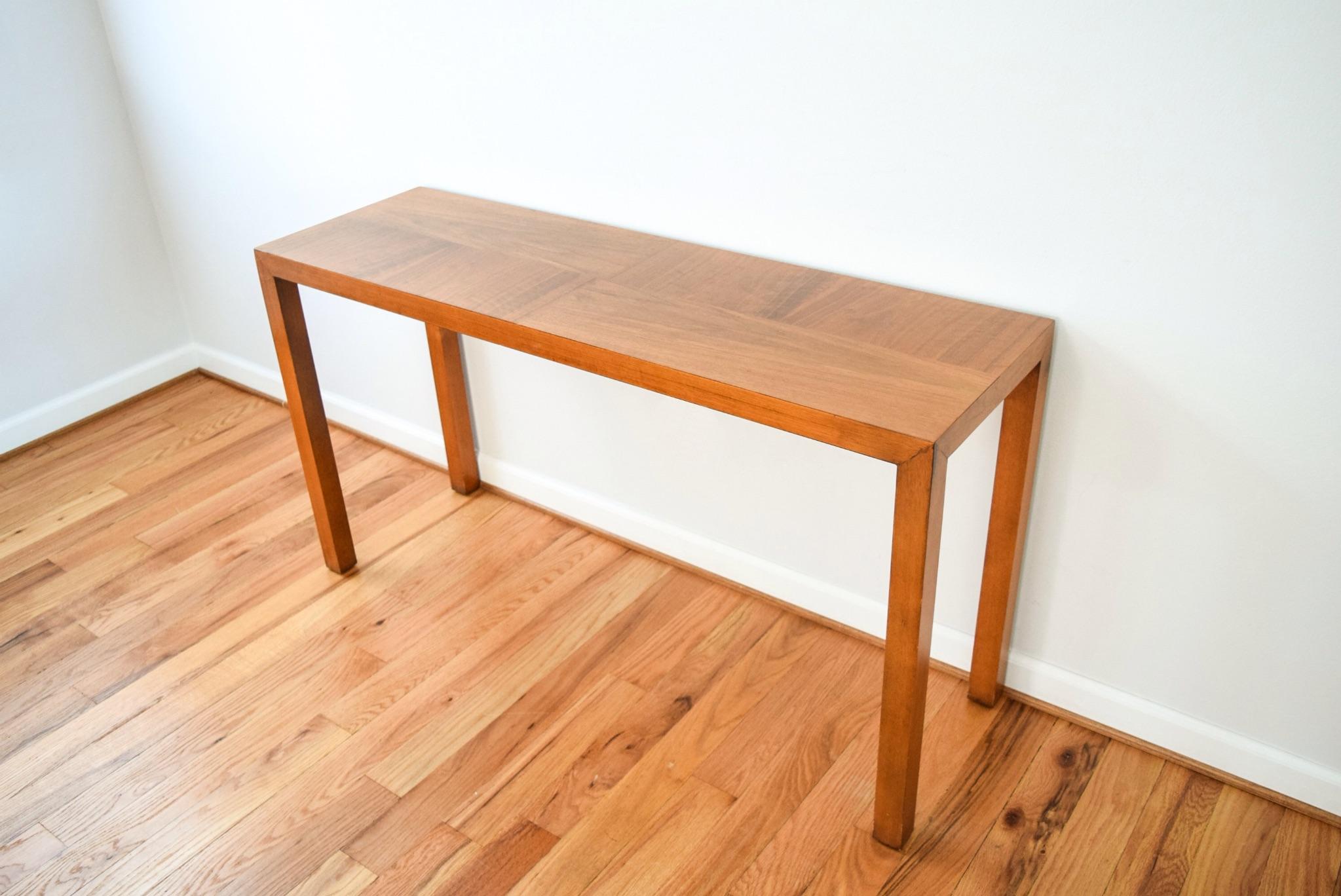Mid Century Vintage Lane Sofa Console Table   Image 3 Of 9