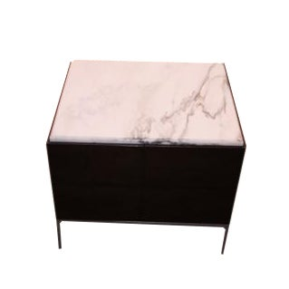 Marble Top Side Table - Image 1 of 4
