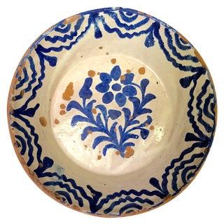 Antique Spanish Granada Bowl