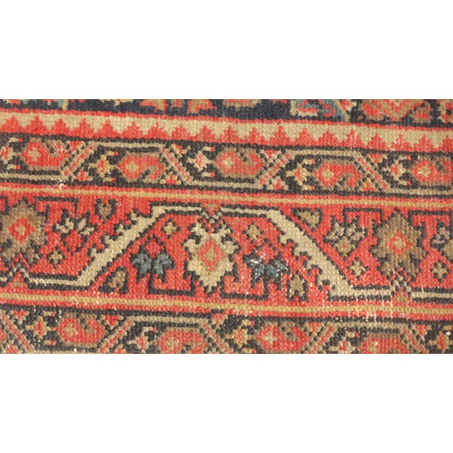 """Antique Persian Malayer Runner Rug - 15'5"""" x 3'2"""" - Image 3 of 4"""