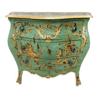 Italian Chinoiserie Gilded Chest