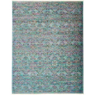 "Vibrance Hand Knotted Area Rug - 9'1"" X 11'7"""