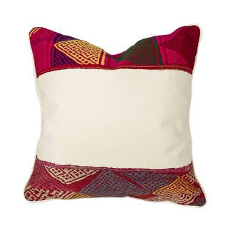 Bohemian Tribal Lace Pillow