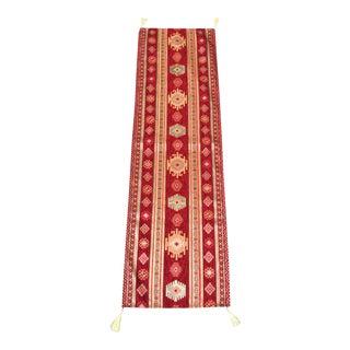 Turkish Kilim Pattern Table Runner