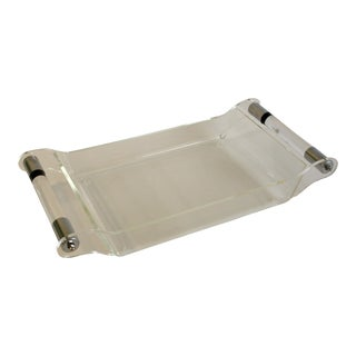 Dorothy Thorpe Modern Lucite Tray