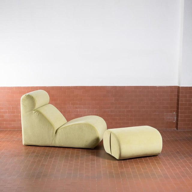 "Image of ""Bobo"" Lounge Chair By Cini Boeri for Arflex"