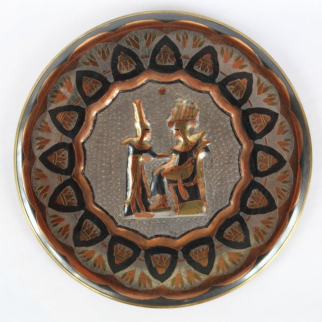 Decorative Egyptian Wall Plates - Image 3 of 10