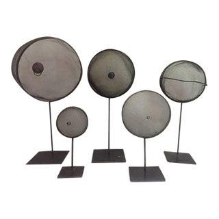 Metal Strainer Art Collective - Set of 5